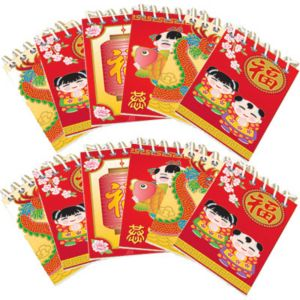 Chinese New Year Notepads 12ct
