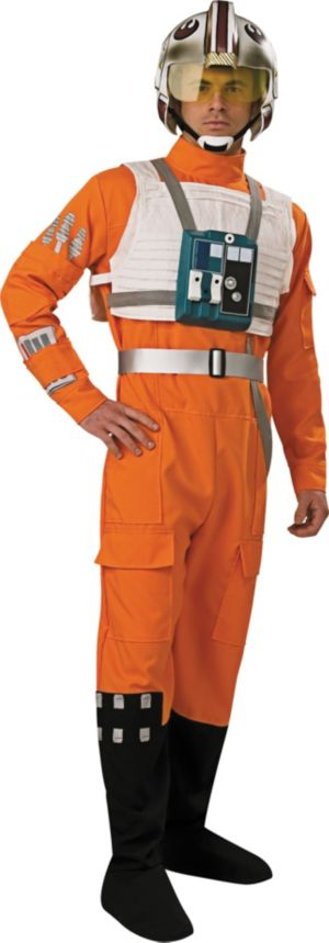Adult X Wing Pilot Costume - Star Wars