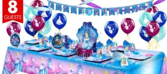 Cinderella Super Party Kit for 8 Guests