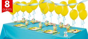 SpongeBob Basic Party Kit for 8 Guests
