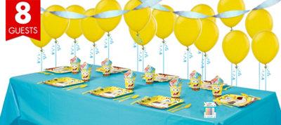SpongeBob Basic Party Kit for 8 Guests