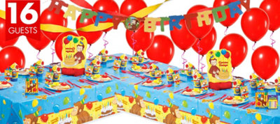 Curious George Party Supplies Deluxe Party Kit