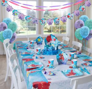 Little Mermaid Super Party Kit for 8 Guests