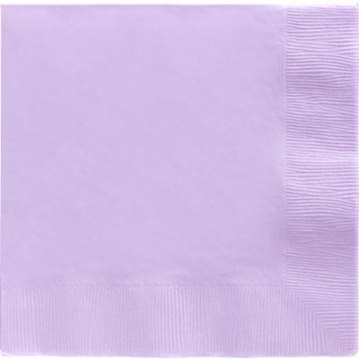 Lavender Dinner Napkins 20ct