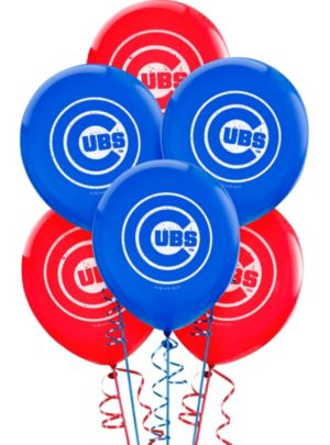 Chicago Cubs Balloons 6ct