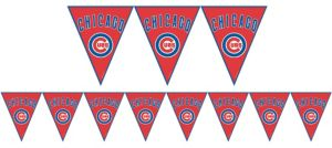 Chicago Cubs Pennant Banner