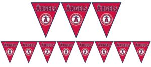 Los Angeles Angels Pennant Banner