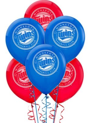 Minnesota Twins Balloons 6ct