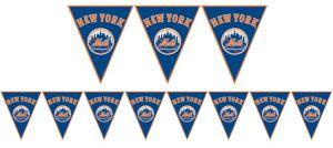 New York Mets Pennant Banner
