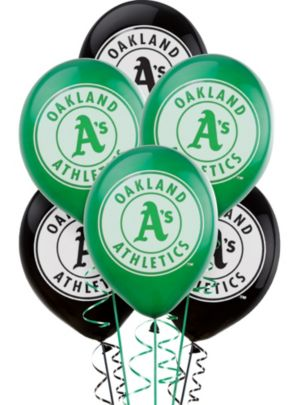 Oakland Athletics Balloons 6ct