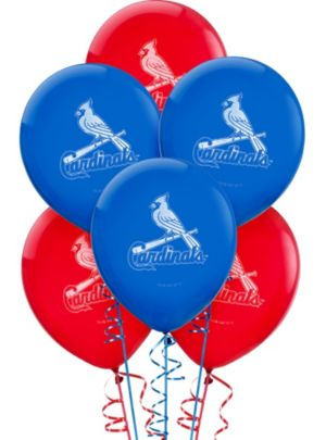 St. Louis Cardinals Balloons 6ct