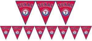 Texas Rangers Pennant Banner