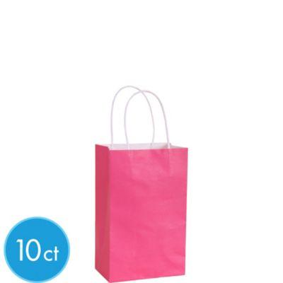 Fuchsia Kraft Bags 10ct