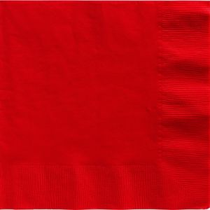 Red Dinner Napkins 20ct