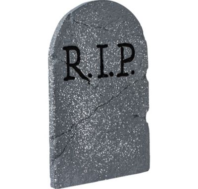 RIP Tombstone Decoration