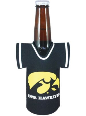 Iowa Hawkeyes Jersey Bottle Coozie