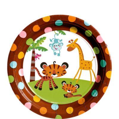 Fisher Price Baby Shower Dessert Plates 8ct