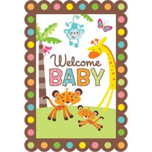 Fisher-Price Jungle Baby Shower Invitations 8ct
