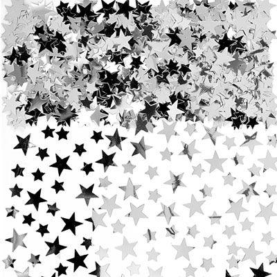 Silver Star Confetti 5oz