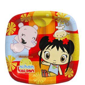 Ni Hao Kai Lan Dessert Plates 8ct