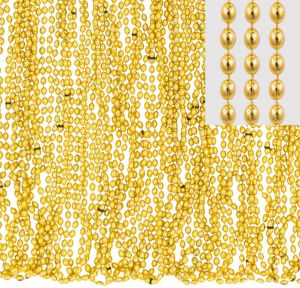 Metallic Gold Bead Necklaces 50ct