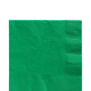 Festive Green Lunch Napkins 125ct