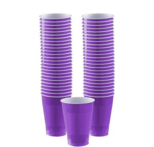 BOGO Purple Plastic Cups 12oz 50ct