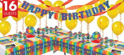A Year To Celebrate 50th Birthday Deluxe Party Kit