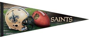New Orleans Saints Pennant Flag