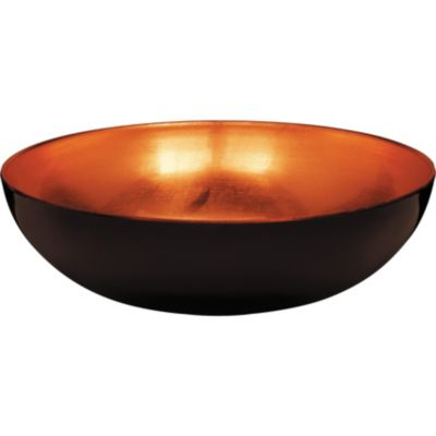 Elegant Fall Orange Plastic Bowl