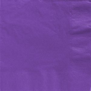 Big Party Pack Purple Dinner Napkins 50ct