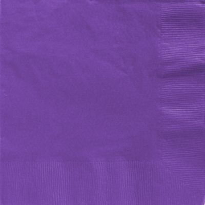 Purple Dinner Napkins 50ct