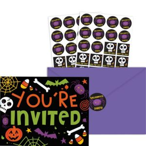 Spooktacular Halloween Invitations 20ct