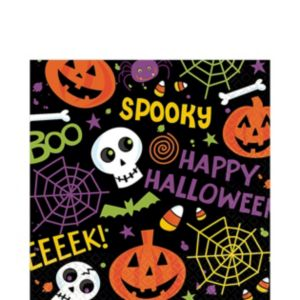 Spooktacular Lunch Napkins 125ct
