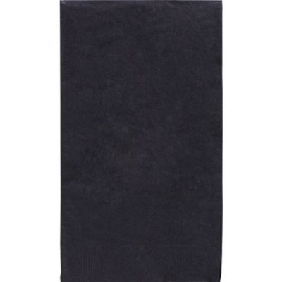Black Guest Towels 40ct