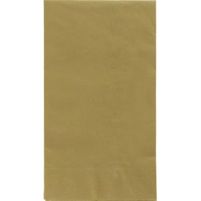 Gold Guest Towels 40ct