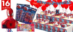 Spider-Man Ultimate Party Kit for 16 Guests
