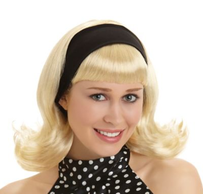 50's Blonde Housewife Wig