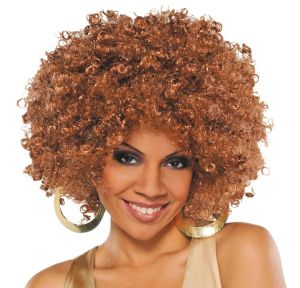 Runway Caramel Afro Wig