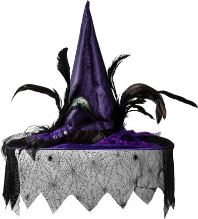 Purple Witch Hat Deluxe