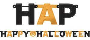 Happy Halloween Letter Banner
