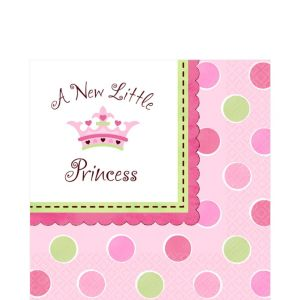 Little Princess Baby Shower Lunch Napkins 16ct