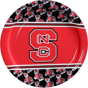 North Carolina State Wolfpack Lunch Plates 8ct