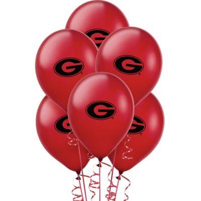 Georgia Bulldogs Balloons 10ct