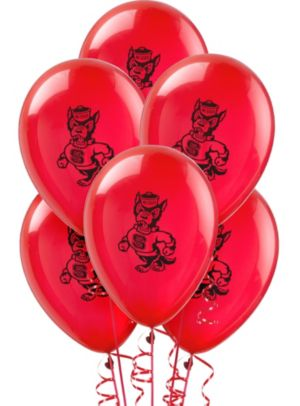 North Carolina State Wolfpack Balloons 10ct