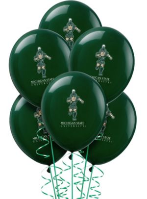 Michigan State Spartans Balloons 10ct