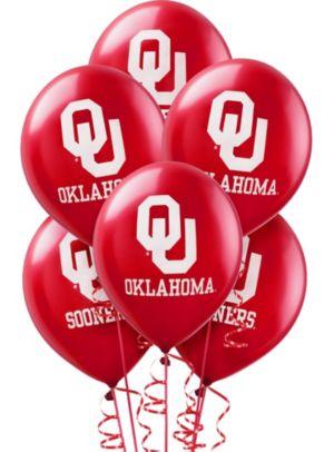 Oklahoma Sooners Balloons 10ct