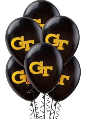 Georgia Tech Yellow Jackets Balloons 10ct