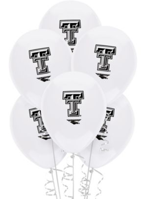 Texas Tech Red Raiders Balloons 10ct