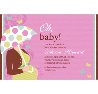 Custom Great Expectations Baby Shower Invitations